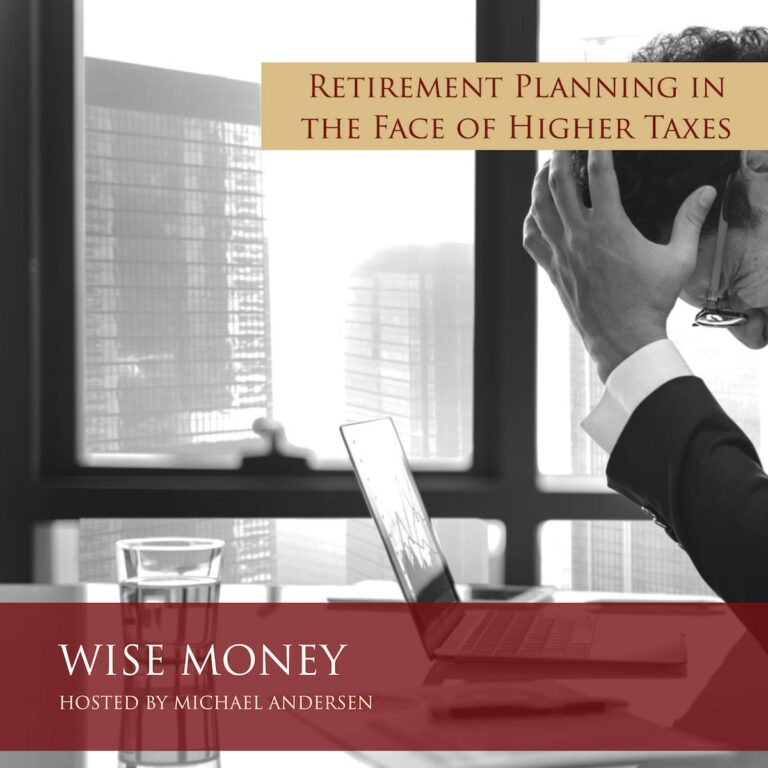 retirement planning in the face of higher taxes